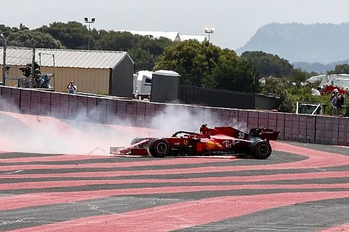 Así queda el Ferrari F1 sin los logos de Mission Winnow