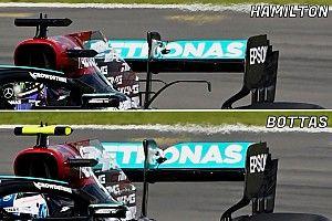 Mercedes: due ali posteriori diverse per trovare il set up ideale