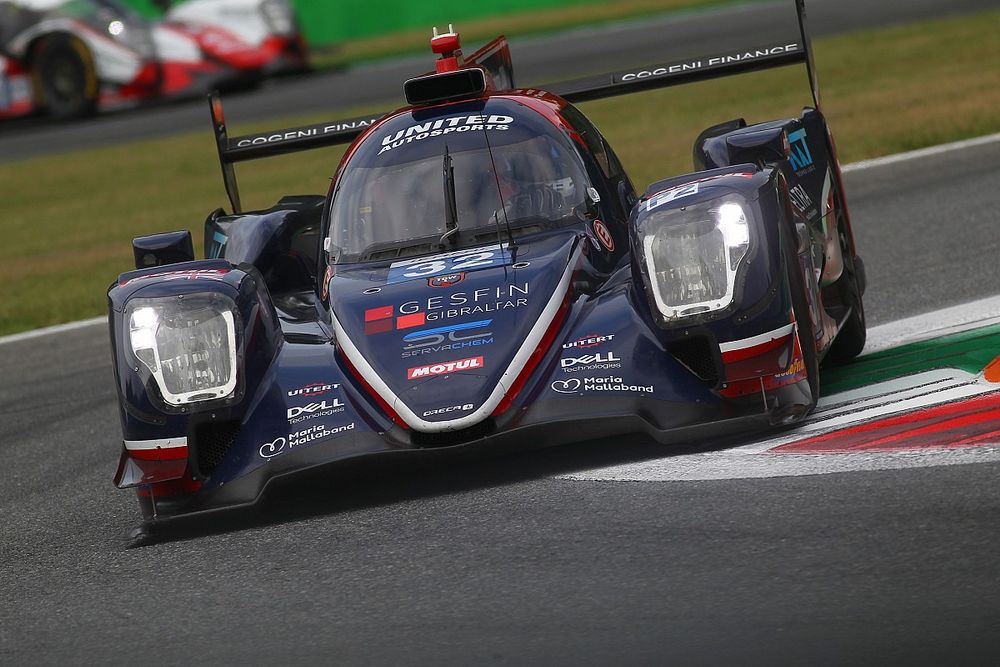 ELMS: United Autosports senza una vettura a Monza causa COVID