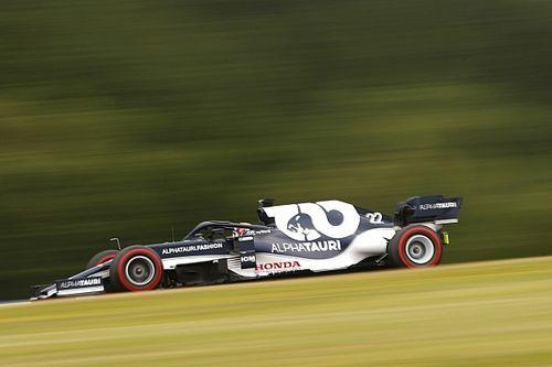 """角田裕毅、F1オーストリアGP初日は""""好調な1日""""「とてもポジティブ。目的を果たすことができた」"""