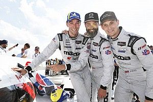 Tincknell thrilled to win 30 years on from Mazda's LM24 victory
