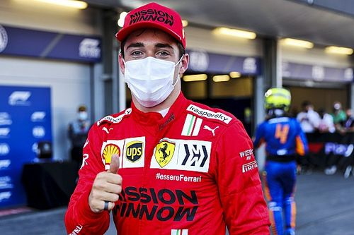 Dibantu Bendera Merah, Leclerc Tak Merasa Curi Pole Position