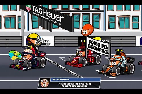 Vídeo: el histórico GP de Mónaco 2021 de F1, por MiniDrivers
