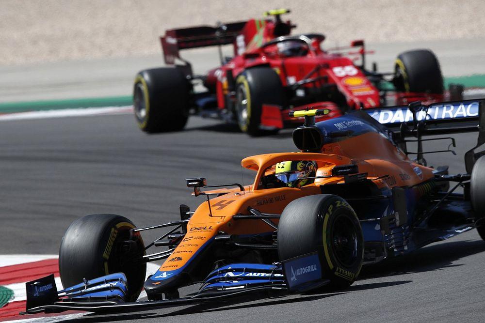 Норрис: Ferrari обгонит McLaren, если разберется с машиной