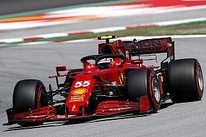 Sainz: Ferrari still worried about tyre degradation in F1 Spanish GP