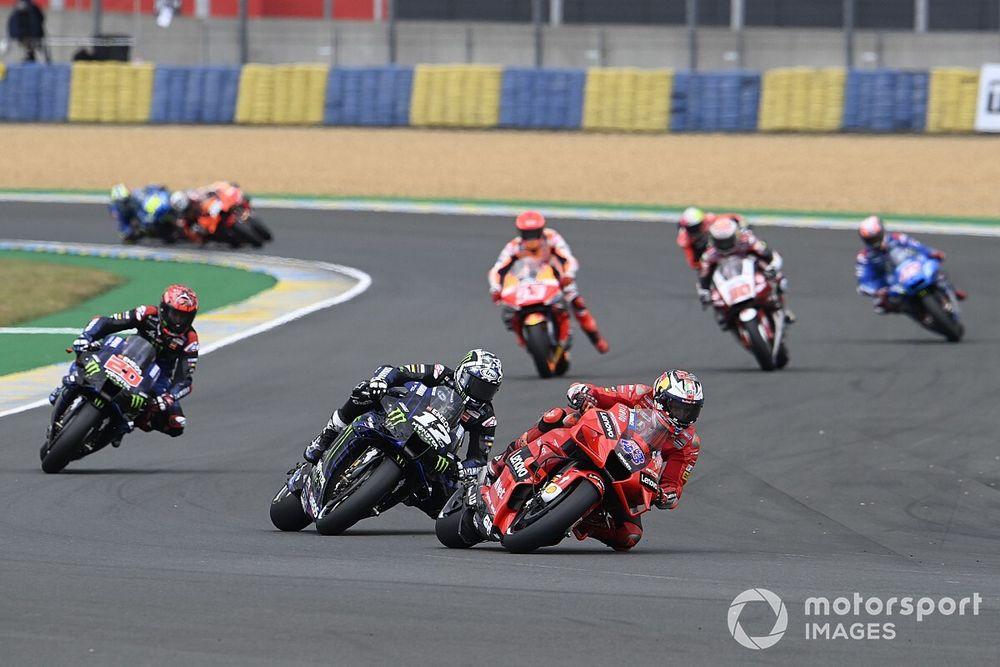 Lap Chart MotoGP: la clamorosa rimonta di Bagnaia Le Mans