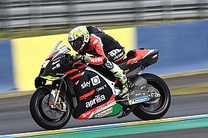 """Aleix Espargaro more """"frustrated than ever"""" at Le Mans DNF"""