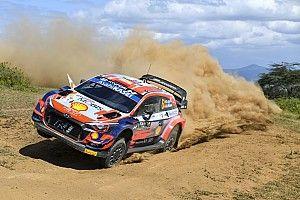 WRC Safari: KO de Sordo y Evans por accidentes; lidera Neuville