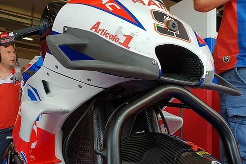 """Petrucci promuove già la nuova carena Ducati: """"Non ha punti deboli e migliora la moto. E' una cosa rara!"""""""