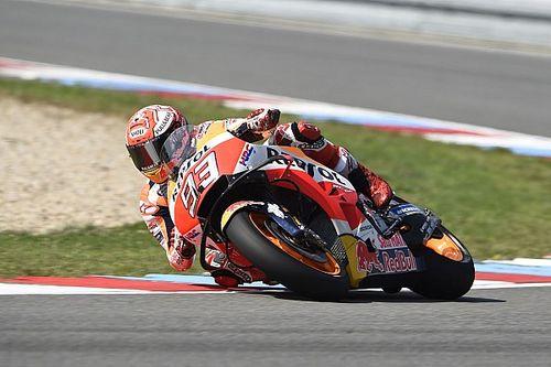 Marquez leads Zarco in Brno MotoGP test