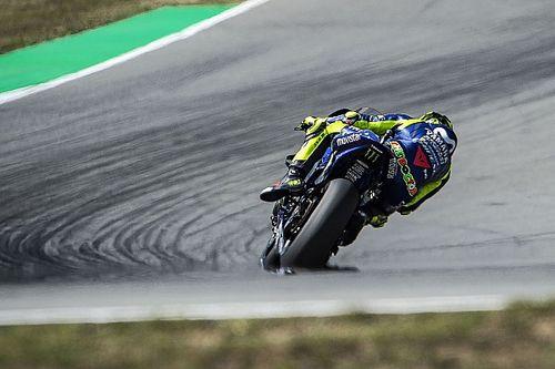 """Rossi besorgt über Reifen: """"Geht darum, wer weniger leidet"""""""