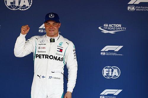 """Bottas: """"Una bella sensazione tornare in pole. Merito del team, che continua a migliorare la W09"""""""