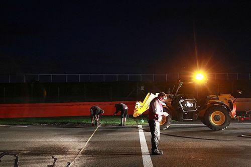 Silverstone : des travaux pendant la nuit pour améliorer la situation