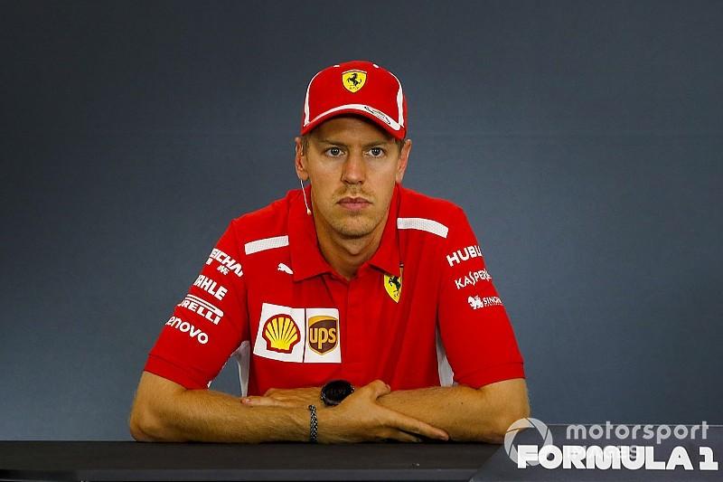 """Sebastian Vettel élu """"Pilote du Jour"""" du GP de Belgique 2018"""