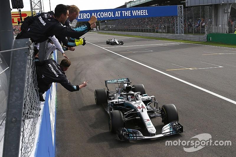 意大利大奖赛:汉密尔顿超越莱科宁夺冠,维特尔第一圈打转