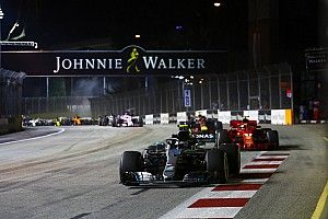 Marina Bay Circuit krijgt derde DRS-zone tijdens GP Singapore
