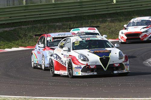 Alfa Romeo: a Vallelunga Ferrara tiene vive le speranze di titolo, Ceccon continua a crescere nonostante la sfortuna