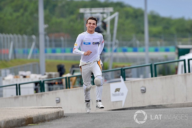 Norris n'exclut pas de faire une infidélité à McLaren