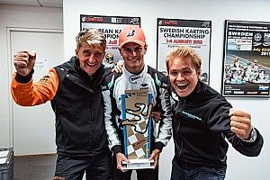 Rosberg wins karting world title as team owner