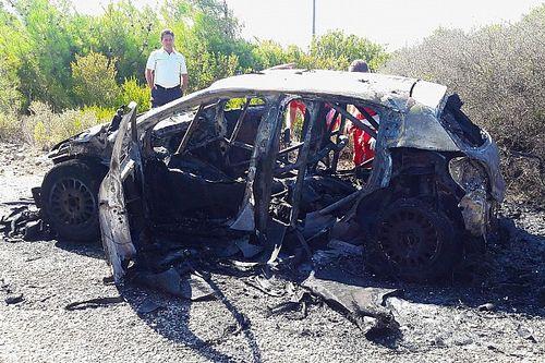 Videó és fotók: ennyi maradt Breen porrá égett Citroenjéből