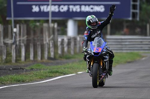 India ARRC: West doubles up with Supersport Race 2 win
