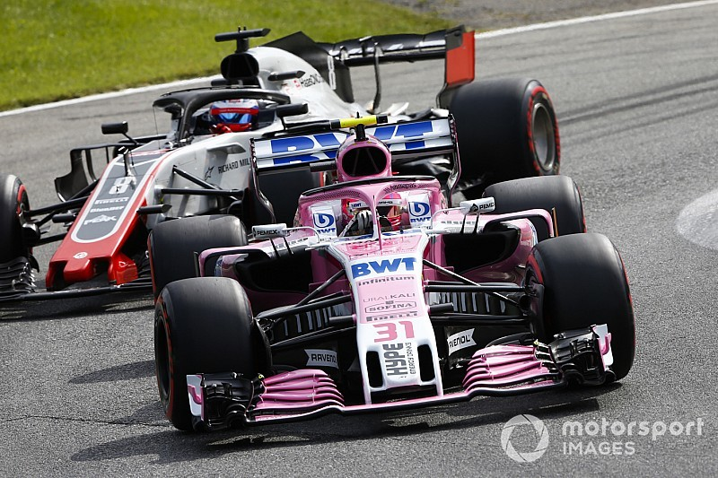 Haas explains why it lodged Force India protest