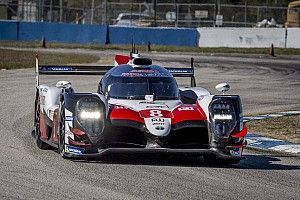 Toyota logs over 4,000km in Sebring WEC test