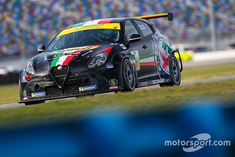 L'Alfa Romeo di KMW-TMR prosegue in IMSA Michelin Pilot Challenge