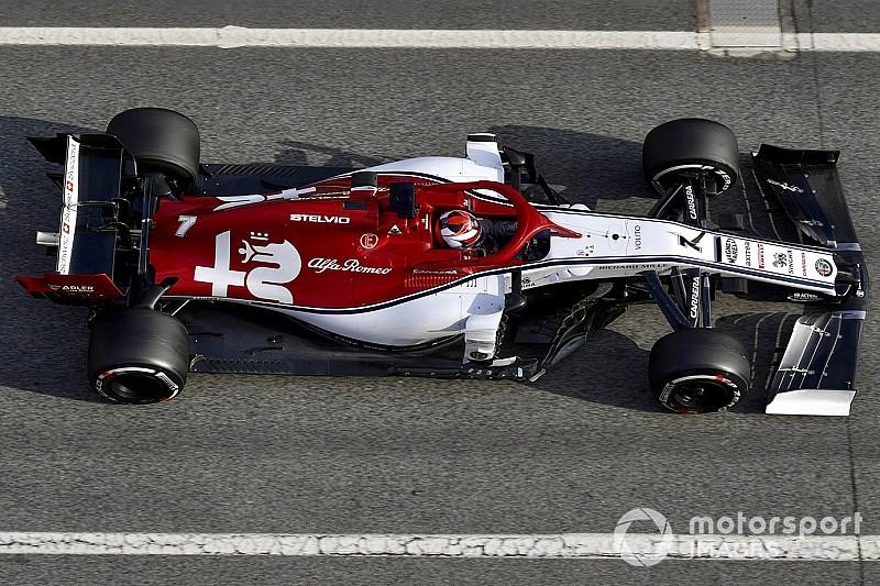 Fotogallery: l'Alfa Romeo Racing nei primi test collettivi di Barcellona