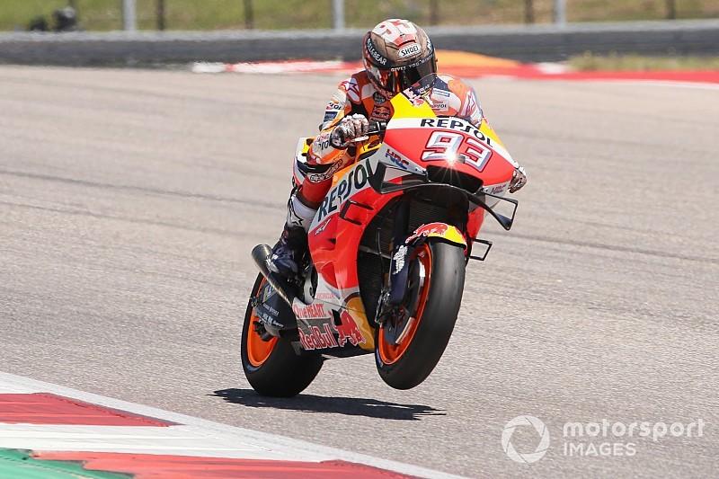 Jerez MotoGP: Marquez leads Lorenzo in FP1