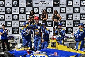 Long Beach IndyCar: Rossi domine ederek kazandı