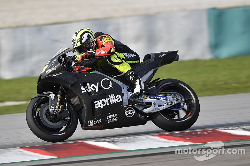"""Iannone: """"L'Aprilia ha migliorato molto la RS-GP rispetto ai test di fine anno"""""""