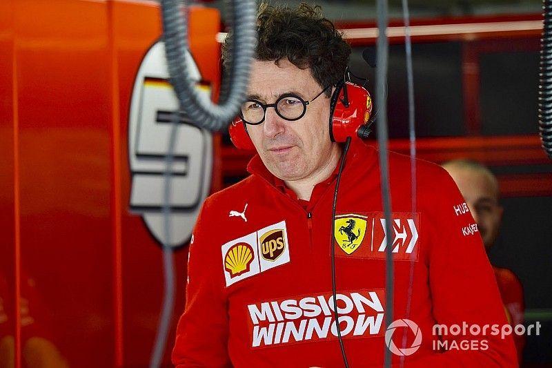 Ferrari se pone en peligro al delegar toda la responsabilidad en Binotto, afirma Berger
