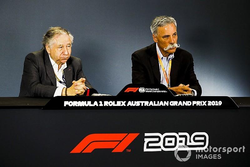 Carey: 2021 için yeni takımlar F1'e ilgi gösteriyor