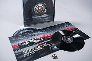 Porsche selling vinyl made from 919 Hybrid's tyres