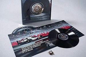 "Porsche pubblica ""The 24 Minutes Of Le Mans"", un vinile con le gomme della 919 Hybrid"