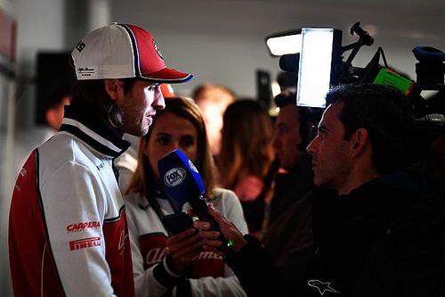 """Giovinazzi: """"Finalmente è Natale per me: Kimi mi aiuta a conoscere l'Alfa"""""""