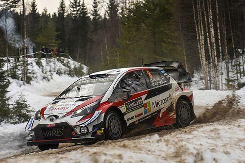 【速報】WRCラリー・スウェーデン、トヨタのオット・タナクが今季初優勝!