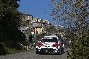 Korsika WRC: Tanak lider, Ogier ve Loeb sorun yaşadı