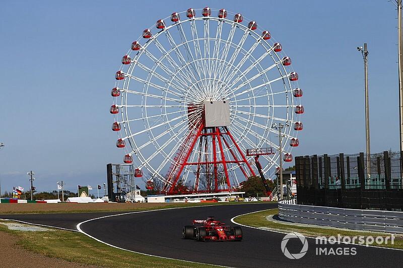 Vettel volt a leggyorsabb Japánban a Ferrarival