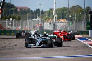 Windschatten und Bremsklotz: So hat Bottas Hamilton geholfen