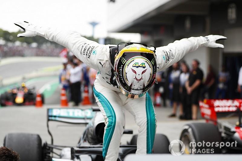 Статистика Гран Прі Бразилії: Хемілтон і Mercedes - королі гібридної ери Ф1