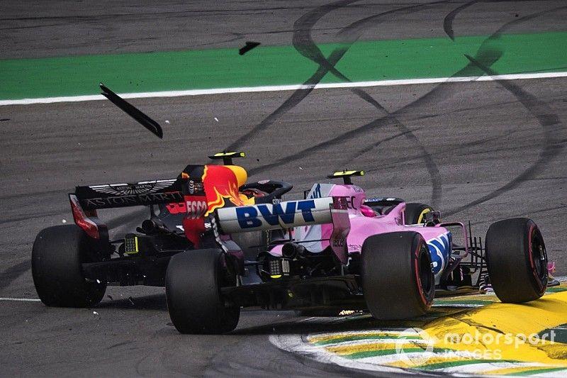 """Ocon responde a Verstappen: """"Intentó darme un puñetazo y eso no es profesional"""""""