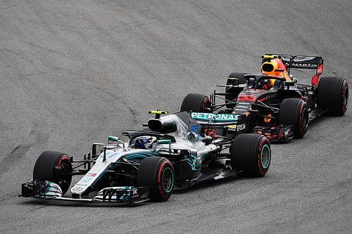 """Verstappen glaubt: Hamilton profitierte von """"nicht so schnellem"""" Bottas"""