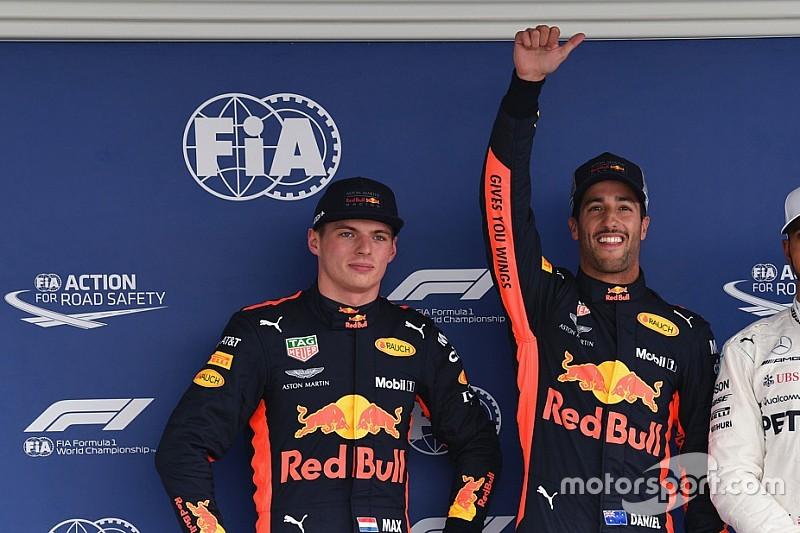 Mexiko-Qualifying: Hat Ricciardos Jubel Max Verstappen provoziert?
