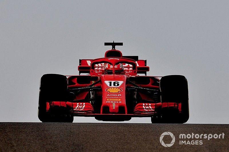Leclerc lidera en la mañana del miércoles en Abu Dhabi