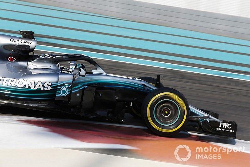 Bottas marca el paso en la mañana en Abu Dhabi