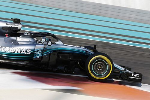 Bottas sets pace as Abu Dhabi F1 test kicks off