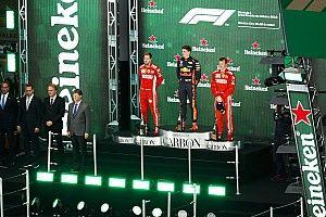 Машина победителя Гран При Мексики поднимется на подиум вместе с пилотом