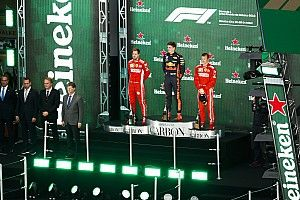 Winning car to join driver on Mexico podium